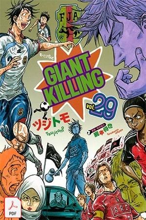 Descargar Giant Killing manga pdf en español por mega y mediafire