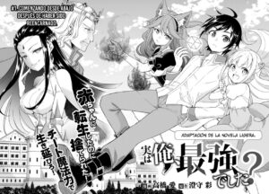Descargar Jitsu wa Ore, Saikyou deshita? manga pdf en español por mega y mediafire