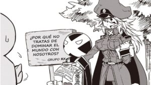 Descargar Zannen Jokanbu Black General-san manga pdf en español por mega y mediafire