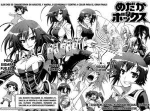 Descargar Medaka Box manga pdf en español por mega y mediafire